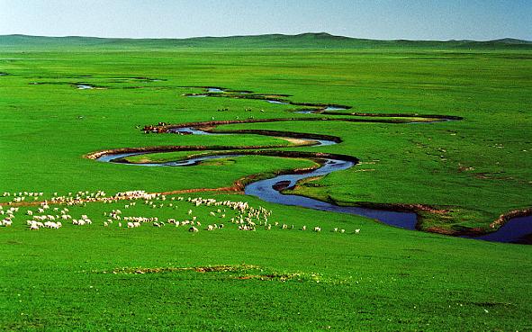 錫林郭勒盟-錫林浩特市-錫林河|錫林九曲|風景區