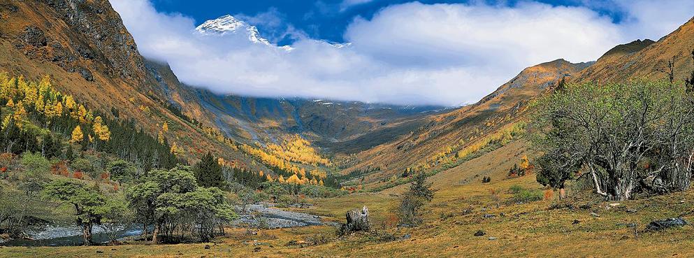 阿坝州-小金县-达维乡-夹金山|木尔寨沟风景区