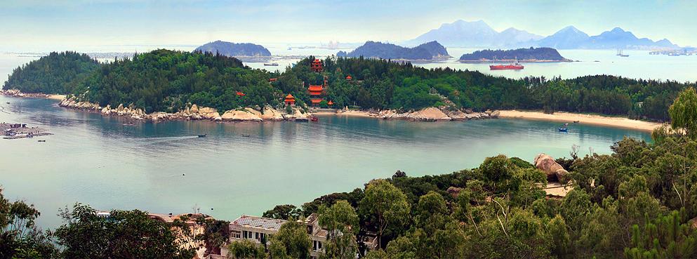 漳州市-东山县-铜陵镇-风动石/塔屿风景区